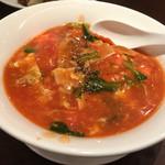 健康中華 青蓮 - トマト広東麺