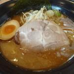 虎魂食堂 - 魚介豚骨 醤油らーめん