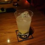 酒趣 柳浦堂 - 自家製生姜のジンバック