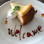 47217911 - Cafeやぶさち(ベイグドチーズケーキ)