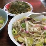三淑園 - 特製長崎チャンポン&皿うどん&ソースやきそば