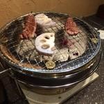 ばっちょ - ハラミ、レンコン焼き