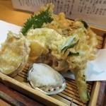 花茶夢 - 春野菜天ぷら