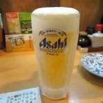 花茶夢 - 生ビール
