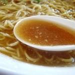 47220627 - スープは前回のジビエラーメンと同じ