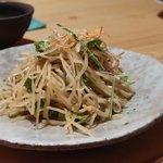蕎麦 流石 - そばサラダ