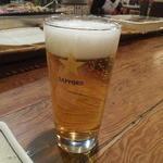 炉ばた 万年青 - ビール