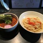麺の坊 晴天 - カレーつけ麺  5辛