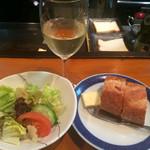 ヴィラージュ - サラダとパン