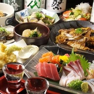 新鮮食材を使用した料理多数