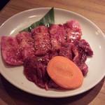 美食焼肉トラジ 葉菜 - カルビ&ハラミ 1.5倍 らんち