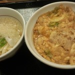 Nakau - 親子丼と小うどん