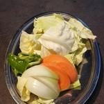 焼肉 鈴木亭 - 焼き野菜