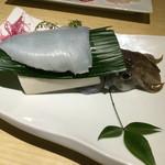 瀬里奈 - 泳ぎはりイカの刺身   食べ終わる頃まで足を動かしてました(^_^;)