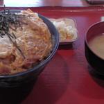47226957 - H28年2月、煮込みカツ丼(850円)