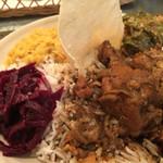 スリランカ料理 ラサハラ - 左側