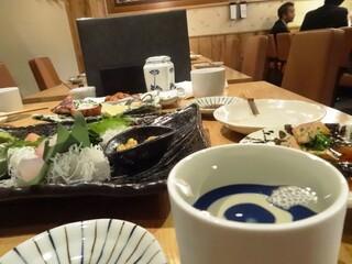 魚真 恵比寿店 - 表面張力☆日本酒