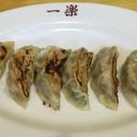 中華食堂 一楽 - 焼ギョーザ