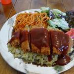 パタタ食堂 - トルコライス1080円