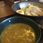 和風らーめん 凪 - カレーつけ麺 790円