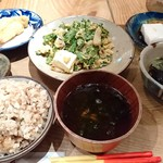 うりずん - ゴーヤチャンプルー定食(1800円)