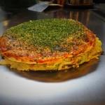 キャベツ畑 - 肉玉焼き・そば入り(960円)