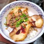 祭まる - Aランチのチャーシュー丼