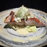 日本料理 楮山 - 金目鯛とカリフラワー