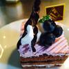 フルールきくや - 料理写真:ブルーベリーのケーキ
