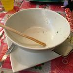 ニャーヴェトナム - スープ含めて完食