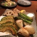 おかん - 季節野菜の盛合りせ