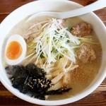 麺屋 空 - 料理写真:鶏づくし 980円(空さん)2016/02