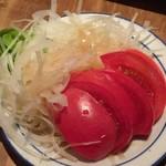 47237633 - 玉ネギトマトサラダ(300円)