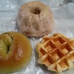 クープ バゲット - いちごのクグロフ&抹茶オレオのベーグル&ワッフル☆(2016年2月)