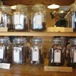アイドントノウコーヒー ロースター - ここから豆をチョイス