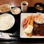 Cafe Place Mu - 2016.1.24 グリルチキンスペシャル定食