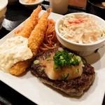 Cafe Place Mu - 2016.1.24 ハンバーグ&エビフライ