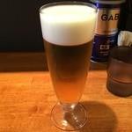 永楽 - 生ビール(600円)