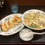 日高屋 - タンメンと餃子