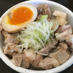 47242317 - チャーシュー味玉丼