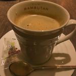 新宿 ランブータン - ホットコーヒー