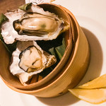 新宿 ランブータン - 蒸し牡蠣