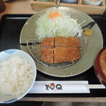 47242837 - やまと豚ヒレ定食 150g 1980円