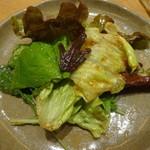 もつ鍋 慶州 - 韓国風サラダ