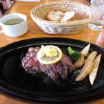 大衆Beef 元町みなと食堂 - 食堂みなとステーキ