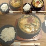 とり田 - スパイス薫る鍋焼きカレーうどん