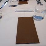 カンブーザ - テーブルセット