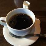 千駄木 露地 - ランチのコーヒー
