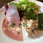 千駄木 露地 - 前菜3種盛り