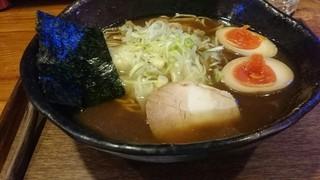 けや木 - ワンタン麺中盛り+味たま
